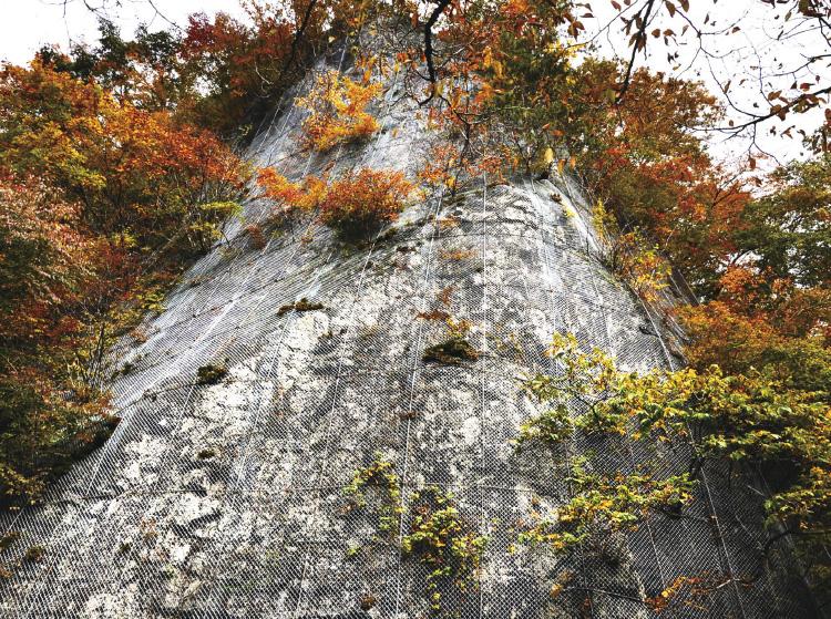 動画:竜尾岩