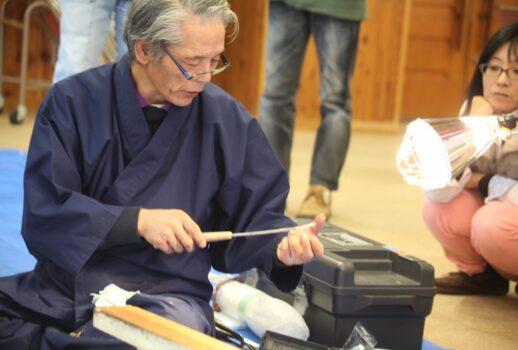 剣持直利 鞘師・刀職人