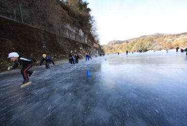 11月17日、伝説のスケート場「原町スケート場」のスケート小屋が解体されます・・・